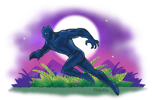 The Black Panther by mengblom