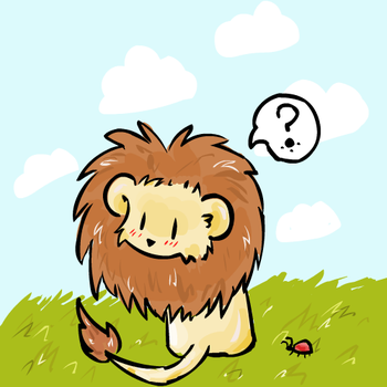 Lion by elenawing