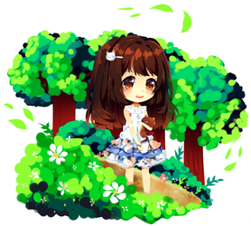 Forest Glade by Maruuki