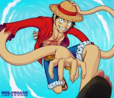 Monkey D. Luffy by The-Swoosh