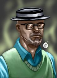 The one who knocks by JPVilchisartist