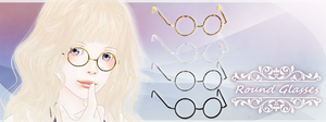 Round Glasses [DL] by Katoroo