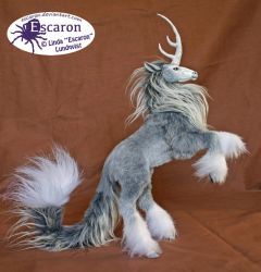 Uniqorn Steed Storm - Posable Art Doll (SOLD) by Escaron