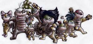 Koopalings :3 by TheSym