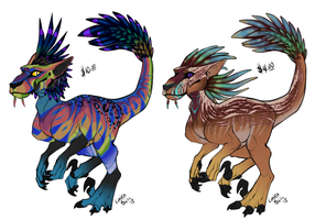 [Cash Adopts] - Felicosuchus - [OPEN - 1 Left] by Linka-Bell