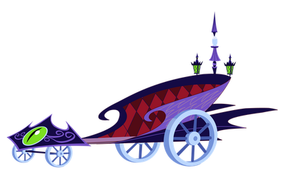Princess Luna Royal Chariot by Mokrosuhibrijac
