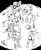 Night in the Woods Cast by AlexRoanheim