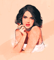 Lana Parrilla by haryalcuile