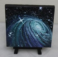 Mini Galaxy #2 by crazycolleeny