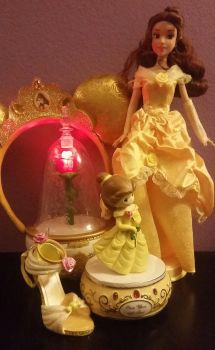 Some of My Beautiful Belle Things by DisneyandZimFanatic