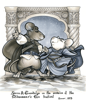 Mouse Guard fancy dance! by ComfortLove