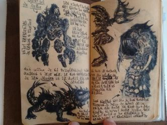 Elementals, Drakes, Spiders, and Wurms (Diary 15) by Dr4wner