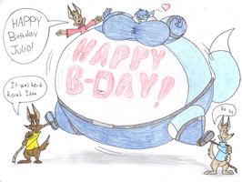 Big Birthday Blimp for Julio by dragovian15