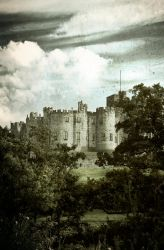 Alnwick Castle Textured by newcastlemale
