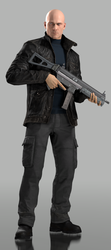 Agent 47 (Tactical Gear) by Yare-Yare-Dong