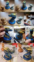 Materializing Monsters (3D prints) by Farphyni
