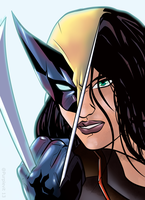 All-New Wolverine / X-23 by @Purplevit13 by Purplevit