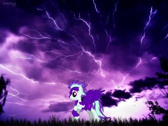 Purple Thunder by Number134