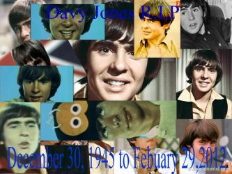 Davy Jones R.I.P by iwildaydreambeliever