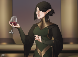 Dragon age - Lady Lavellan by xXxAnnaXx