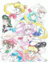 Sailor Scouts by PookyWooky