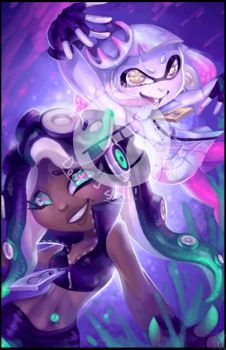 Off the Hook - Marina and Pearl by WalkingMelonsAAA