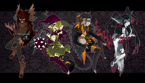 ::Adoptables:: Halloween Assorted [closed] by Jotaku