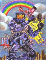 What if more girls played Halo by LisaMcClurg