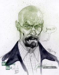 Walter White by J-Scott-Campbell