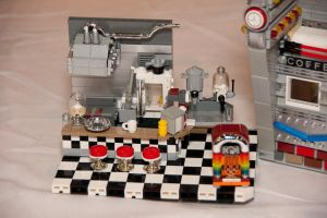 LEGO Diner Interior Removed by Mister-oo7