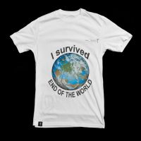 END OF THE WORLD T-SHIRT by ipawluk