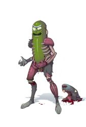Pickle Rick. by Teratophile