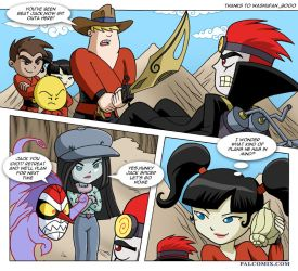 Xiaolin showdown comic sample by bbmbbf