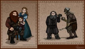 The Hobbit: Fanbook Contribution by wolfanita