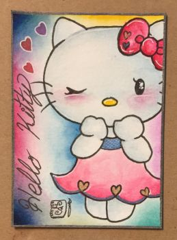Sep MT - Hello Kitty Blush by ParadoxSketchbook