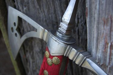 16th Century Italian Battleax for client by copperrein