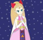 Princess Zelda from Four Swords by a-queen-of-witches