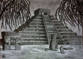 Temple of Kukulkan by Maye5