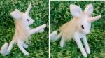 The Last Unicorn jointed plush by Greenhorngal