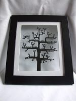 Family Tree Papercut by ladysilver2267