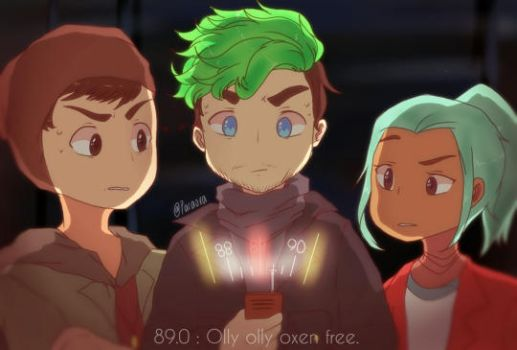 Youtubers : Olly olly oxenfree by pacaora
