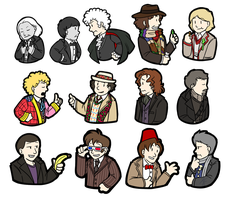 13 Doctors by MystSaphyr