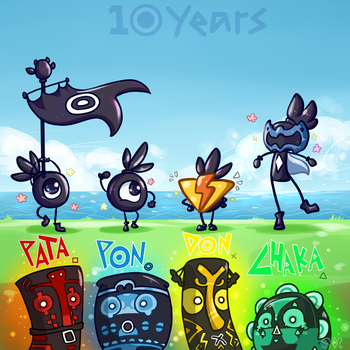 10 Years Marching to The Beat~ by SweetMint9