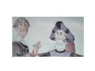 Happy Birthday Christine From Judge Frollo by FireNationPhoenix