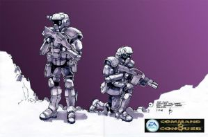 GDI Assault Squad Soldier by HK-887