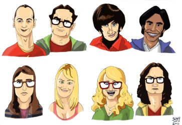 Big Bang Theory Fanart by MichaelSchauss