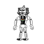 Ennard125 sprite by shadowNightmare13