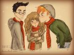 Harry Hermione and Ron | DebbyArts by DebbyArts