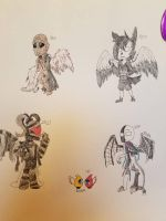 winged scp's by pandoraArti
