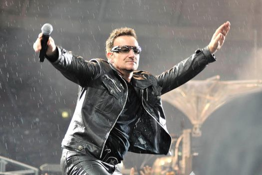 U2 in Moscow 15 - Bono by WilliH